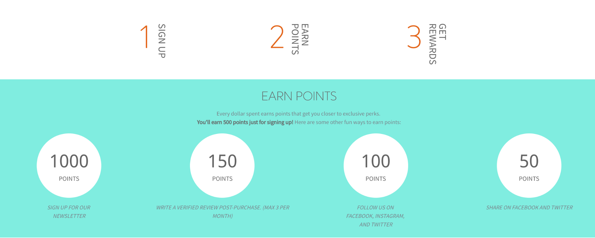 Clean Beauty Club points