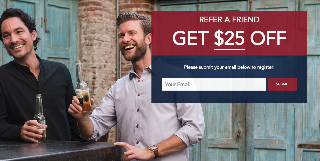UNTUCKit's reward program