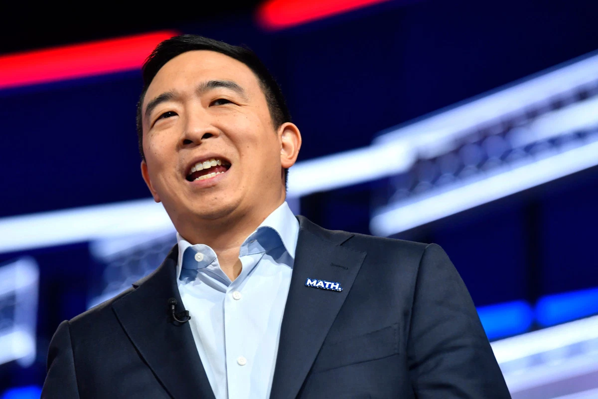 One-time Democratic presidential candidate Andrew Yang ran on a campaign of universal basic income