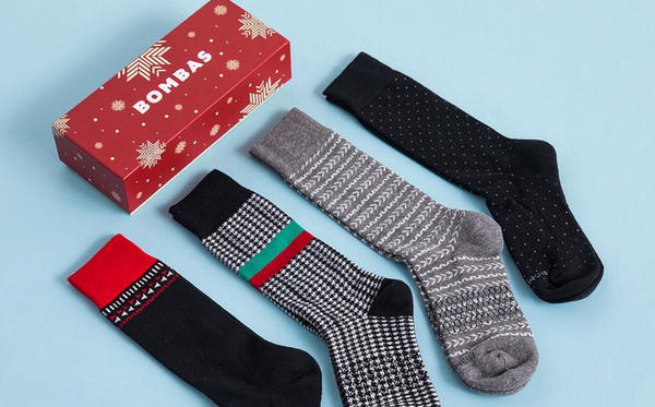 "Bombas makes what it calls ""the world's most comfortable pair of socks."""