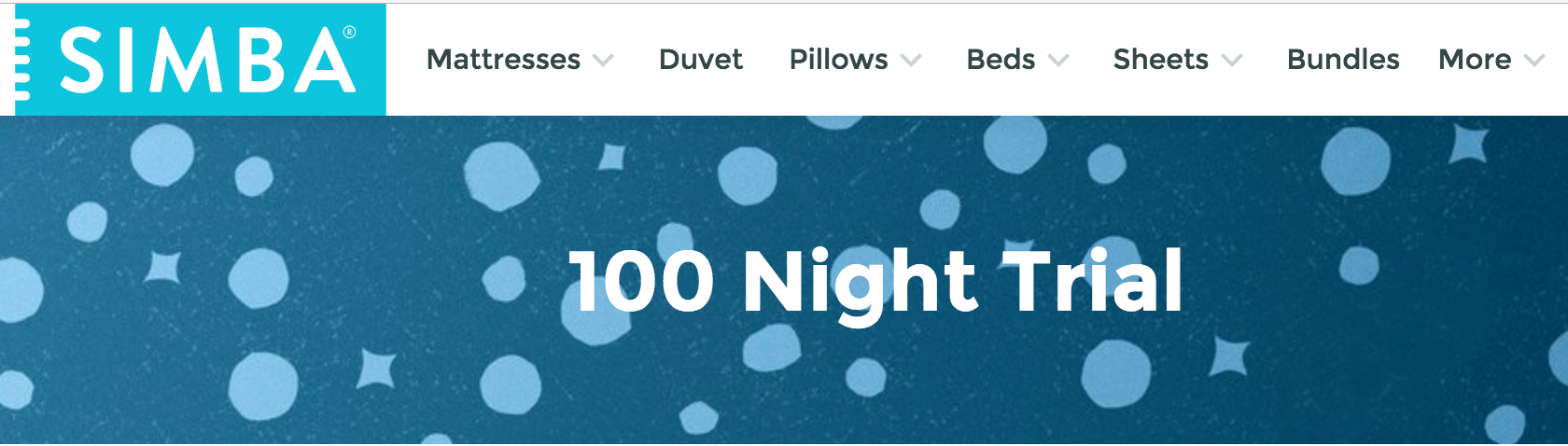 Simba's 100-night trial has been a customer success.