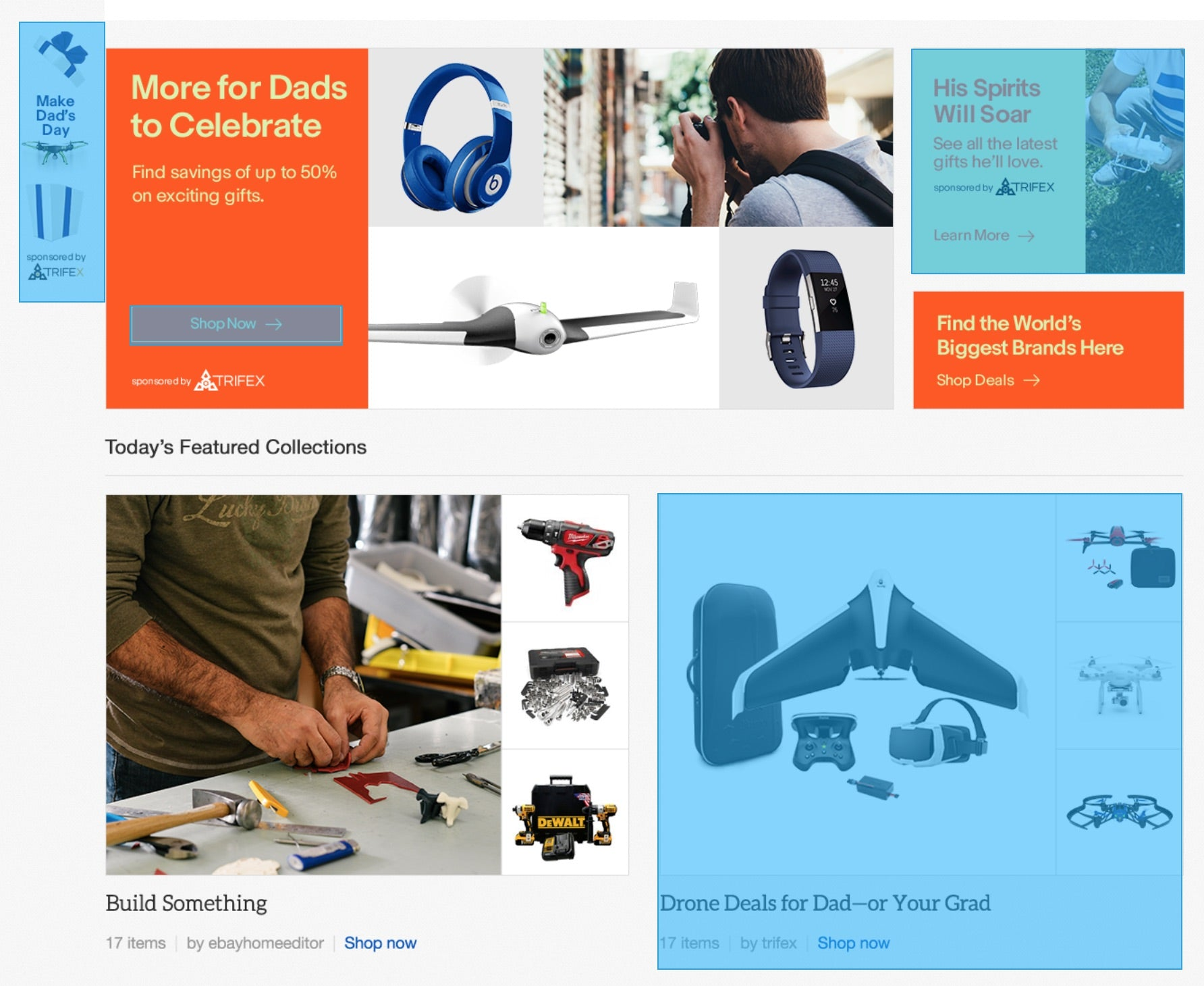 Multi-channel eBay advertising examples