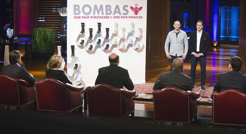 Bombas leveraged its Shark Tank appearance into a huge online following.