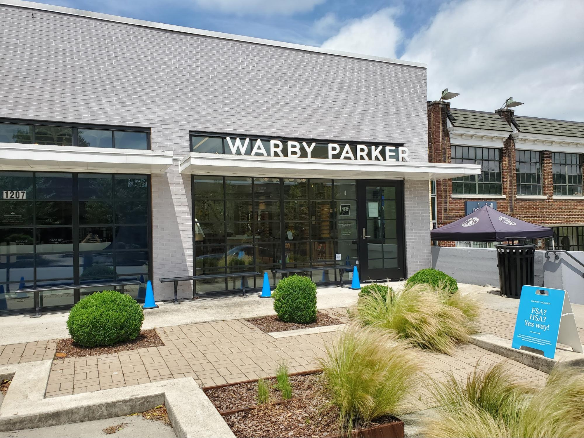 A Warby Parker store in Nashville