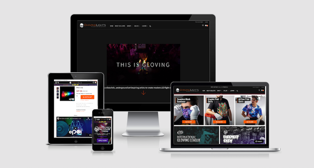 EmazingLights is one of three multi-brand ecommerce site