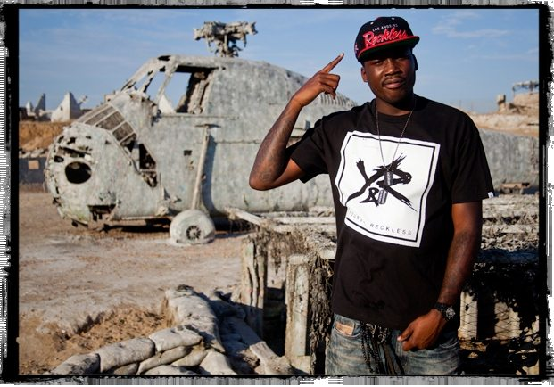 Rapper Meek Mill, recently freed from prison, became the ideal Young & Reckless spokesperson