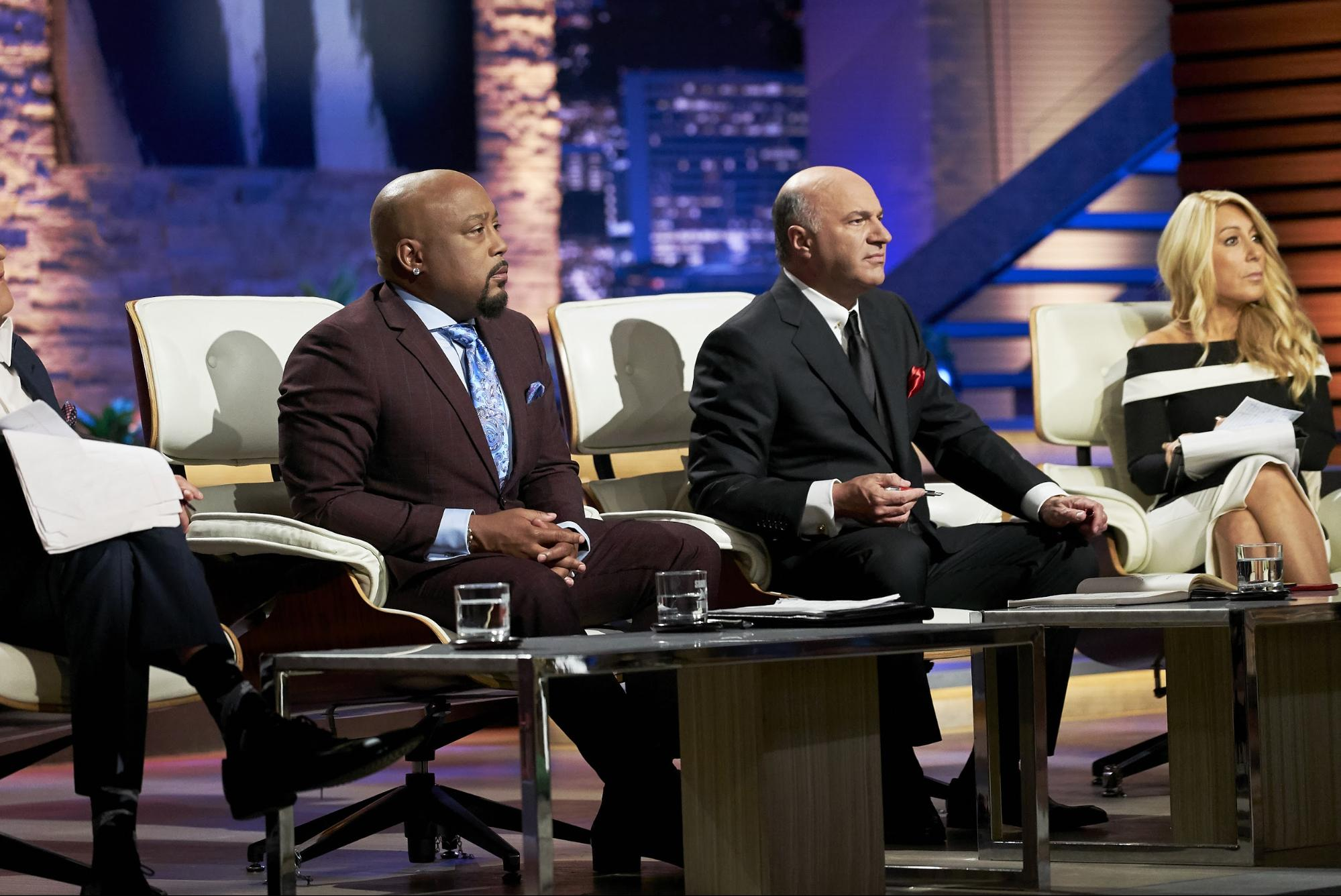 "The sharks often bear their teeth during negotiations on ""Shark Tank"""