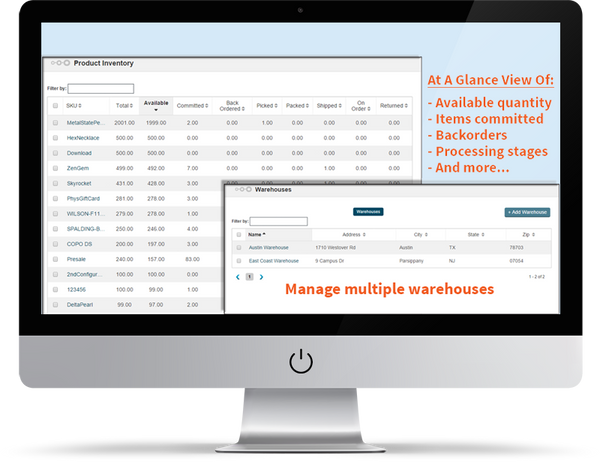Freestyle Solutions Inventory Management Systems Screenshot