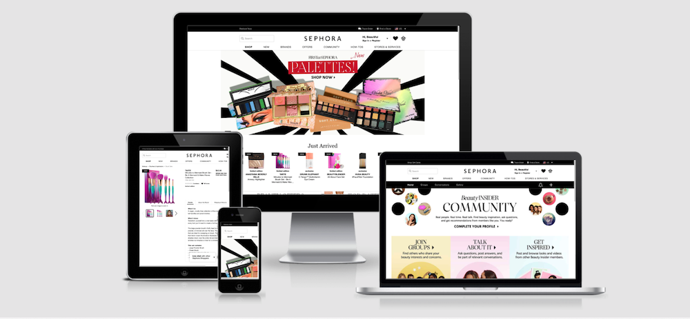 Sephora leads the way as one of the best beauty ecommerce sites