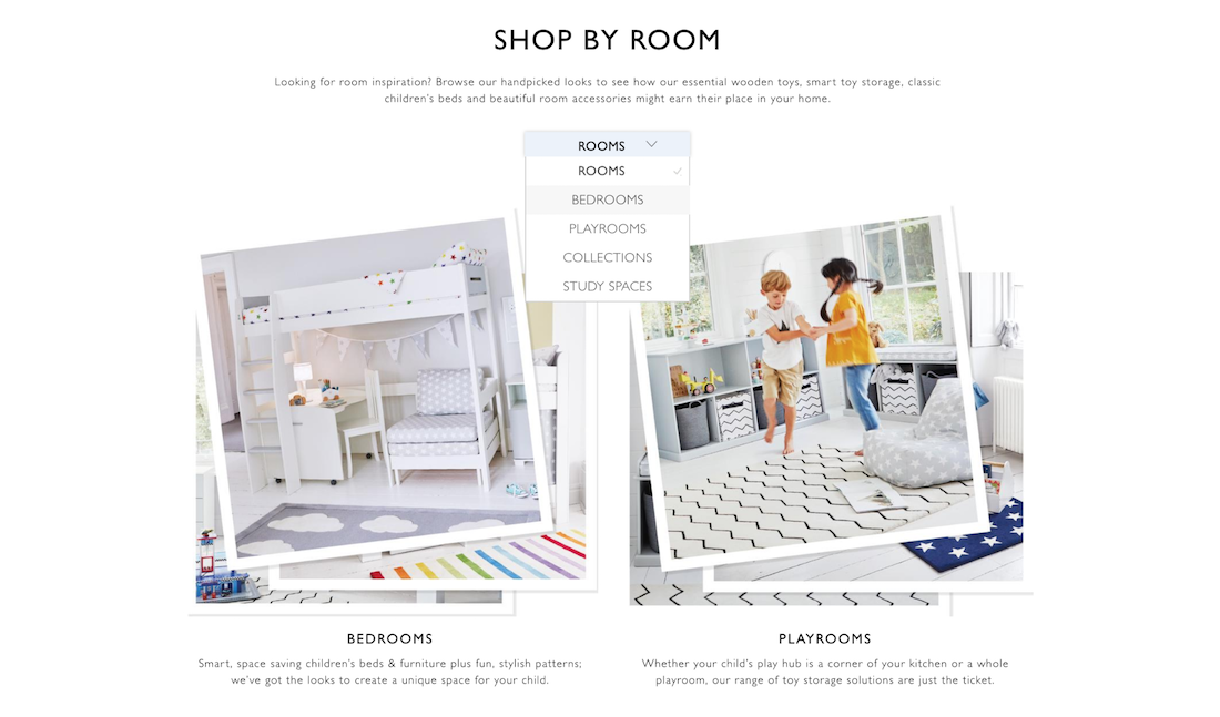 Shop by Room on GLTC