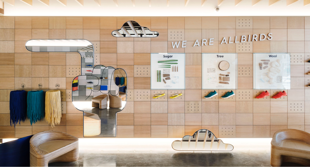 Allbirds now operates three retail locations