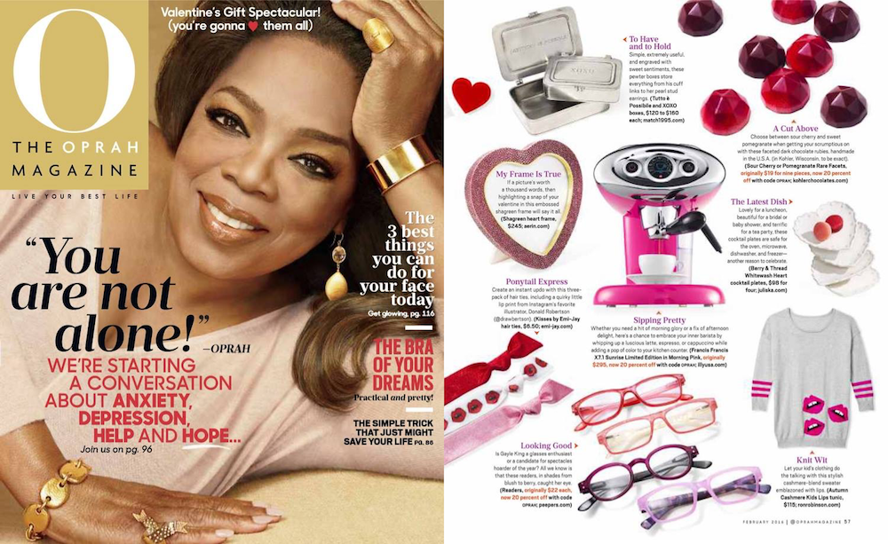 Peepers in O Magazine
