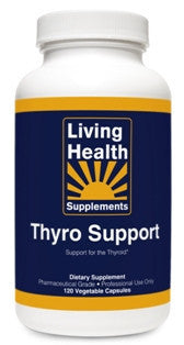Thyro Support: 120 Vegetable Capsules - Living Health Market