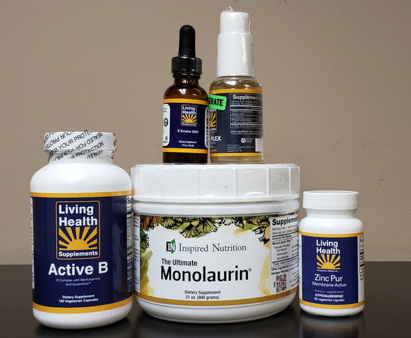 Coronavirus Protection Bundle - Living Health Market