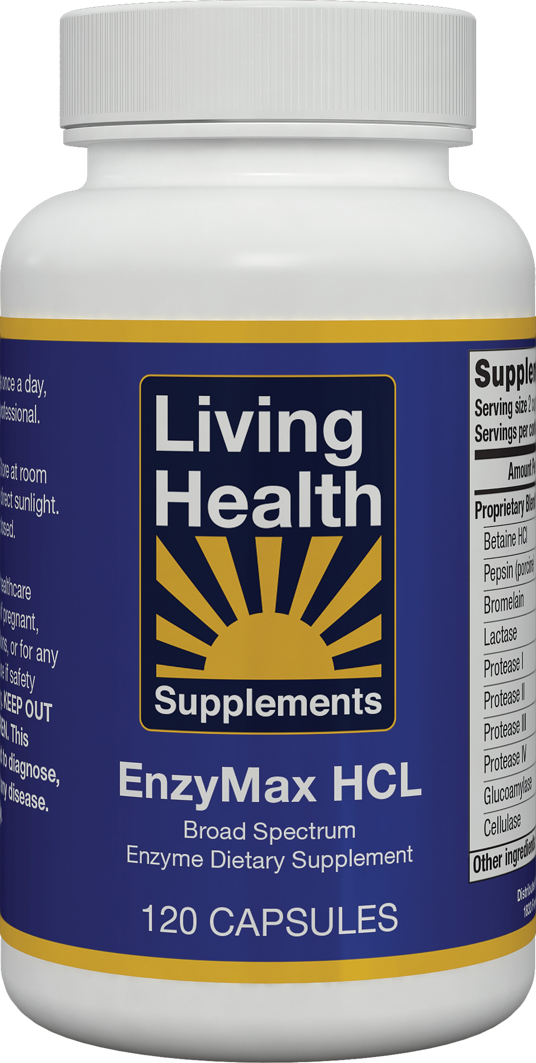 EnzyMax HCL - Living Health Market
