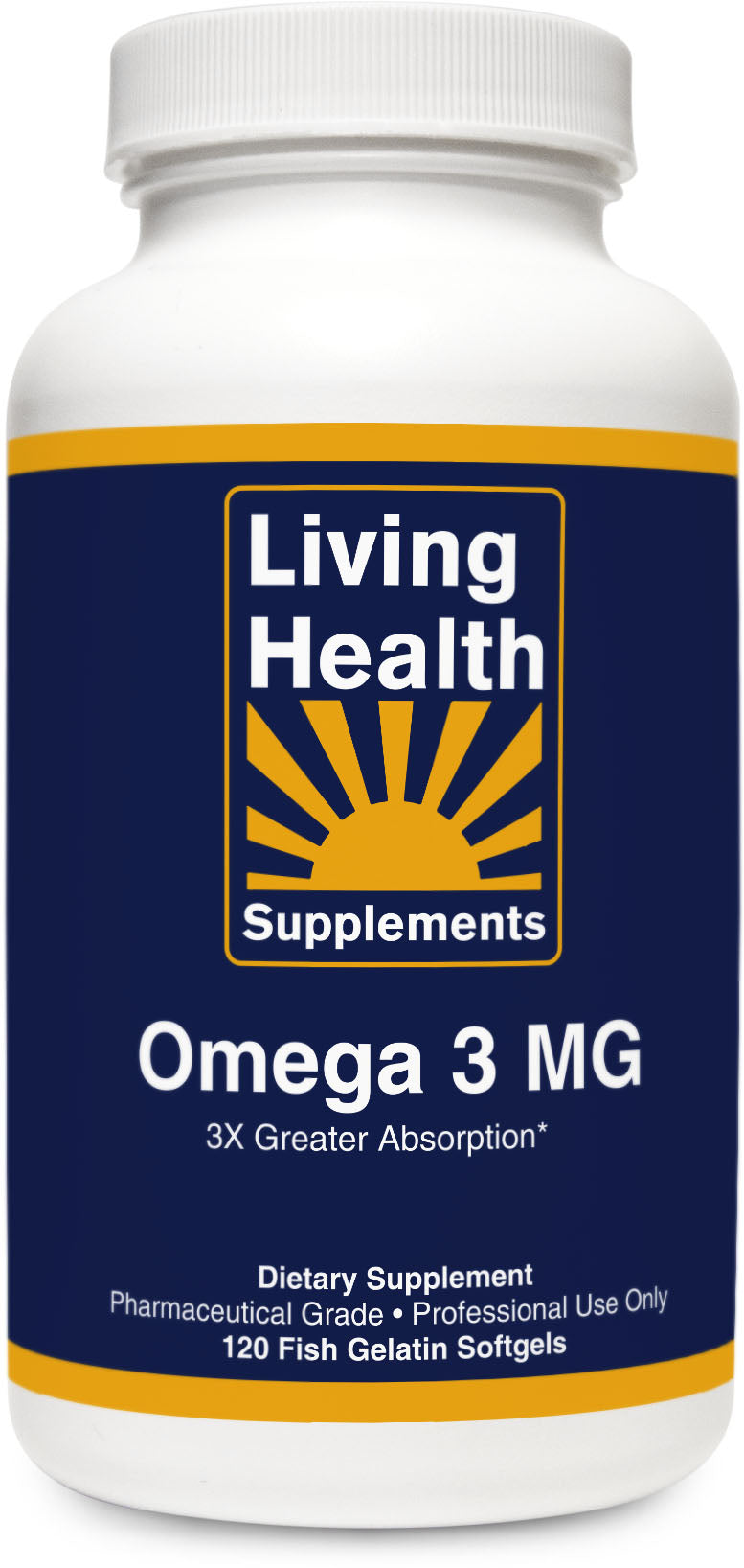 Omega 3 MG - Living Health Market