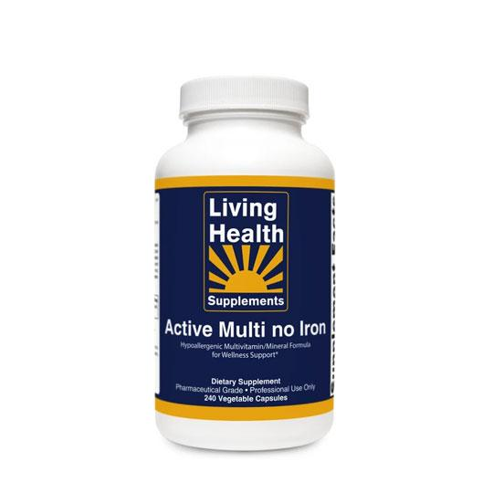 Active Multi no Iron - Living Health Market
