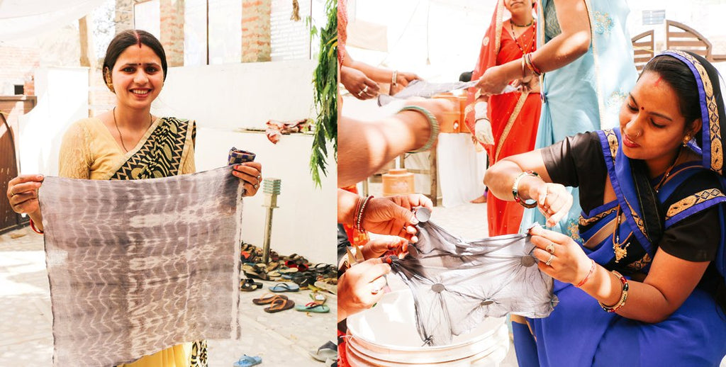 Anchal Artisans Discover the Beauty of Natural Dye