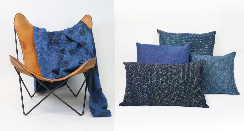 Color Story: Living in Color with indigo