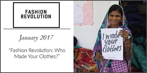 Fashion Revolution Magazine Press 2017