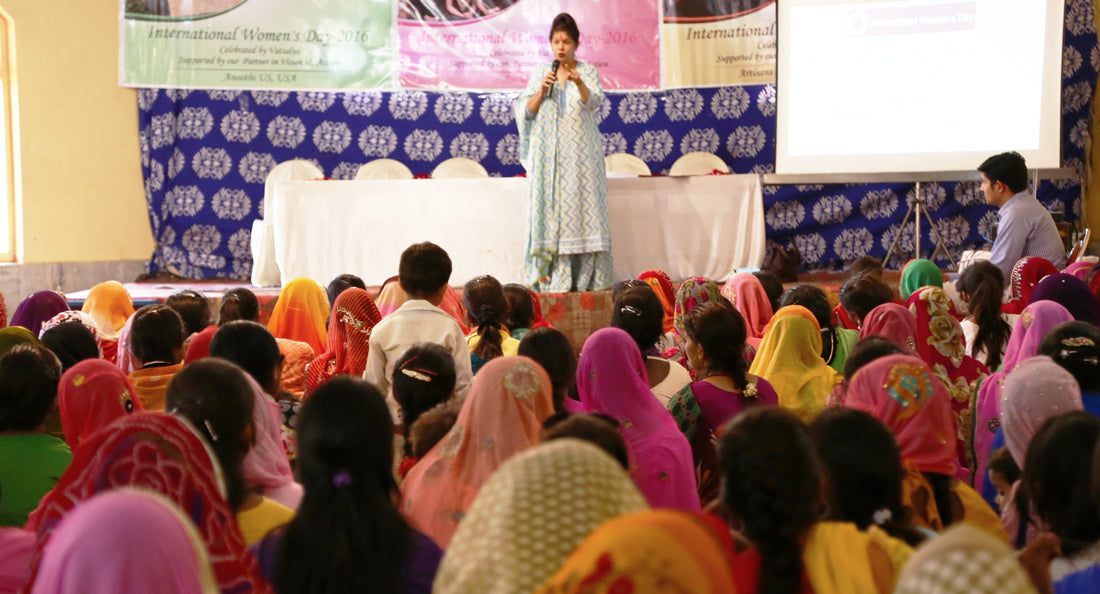 presentations during International Women's Day