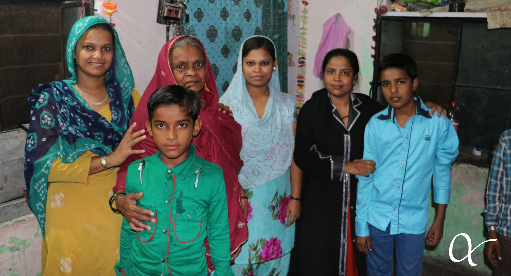 nazia and her family