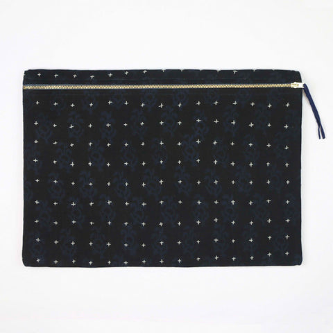 Large Black Pouch | Anchal Project