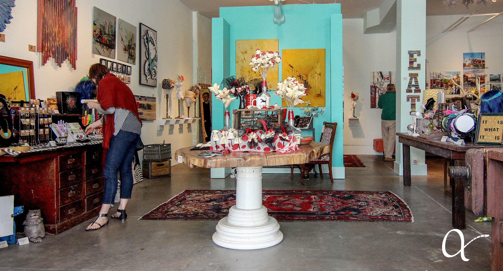 Inside Revelry Boutique Gallery