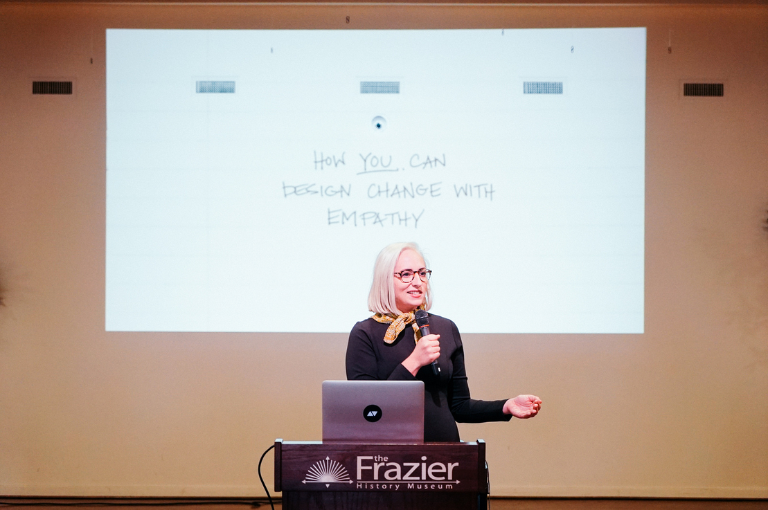 Colleen Clines - Creative Mornings - Empathy