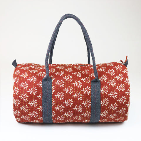 Red kantha Weekender | Anchal Project