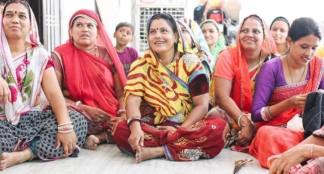 Anchal artisans learning at workshop
