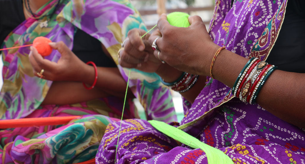 Anchal Artisans India Workshop