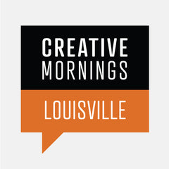 Creative Mornings Louisville where Colleen Clines spoke in 2015