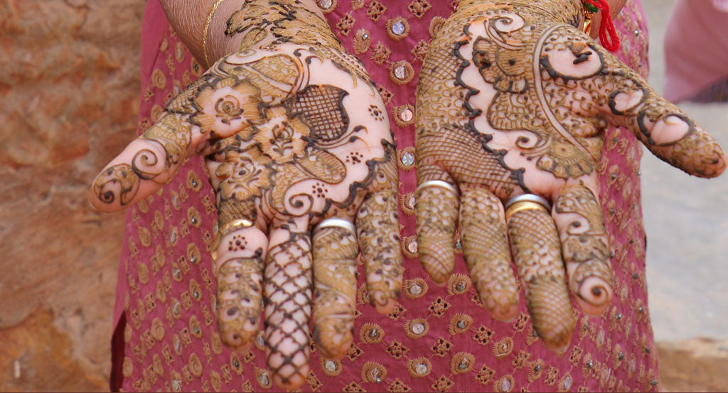 anchal henna mendhi india art