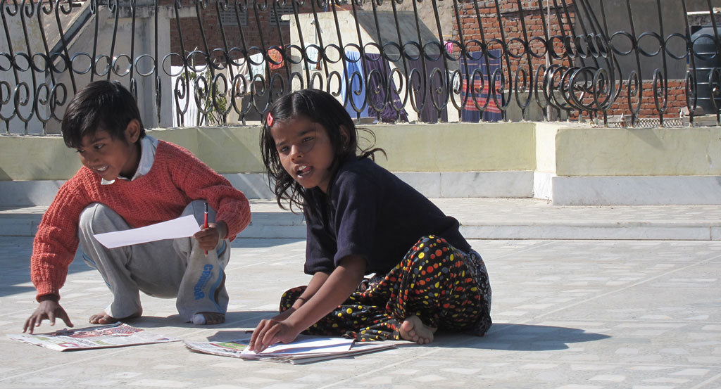 anchal artisans india design workshop kids