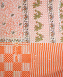 Anchal Kantha Throw Quilt