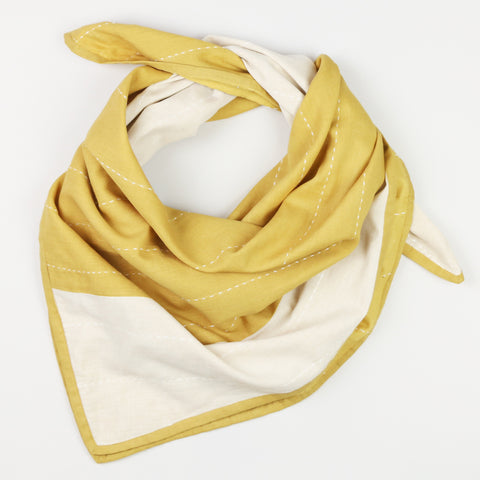 Organic Cotton Square Scarf