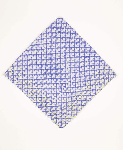 Bandana Scarf - Periwinkle Tulips | Anchal Project