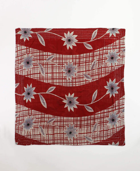 Bandana Scarf - Red Vines | Anchal Project