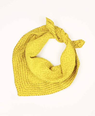 Bandana Scarf - Sunshine Sprouts | Anchal Project