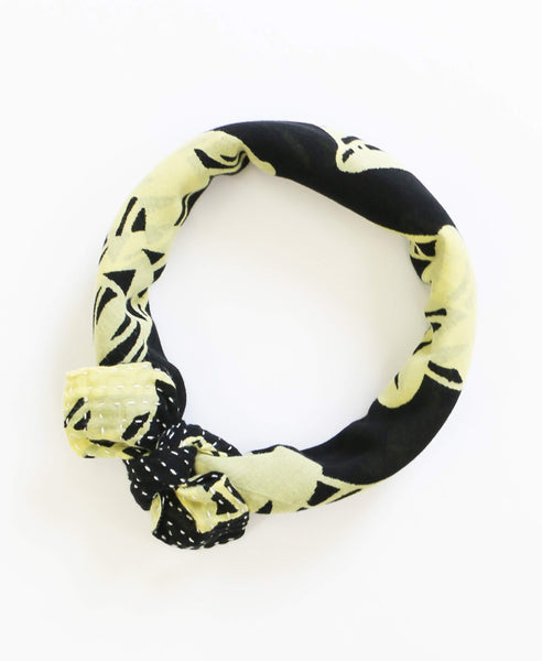 Bandana Scarf - Yellow Trumpets | Anchal Project