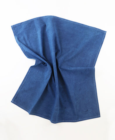 Hand Dyed Tea Towel - Indigo | Anchal Project