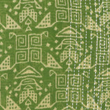 Handmade Cotton Square Scarf - Fern Aztec | Anchal Project