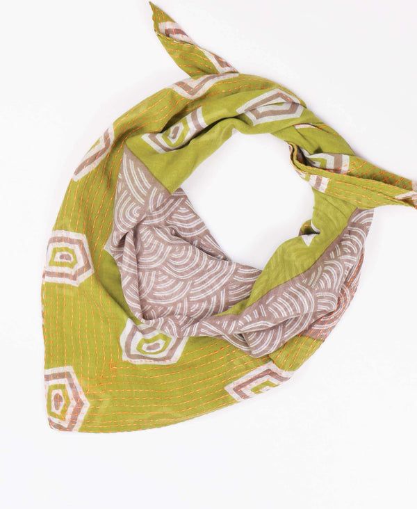 Handmade Cotton Square Scarf | Anchal Project