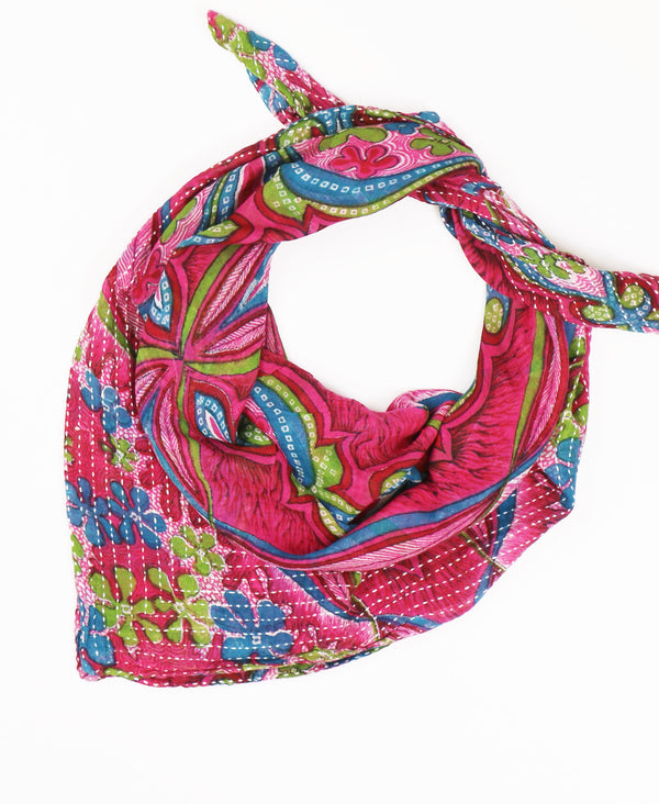 Kantha Square Scarf - No. 190379