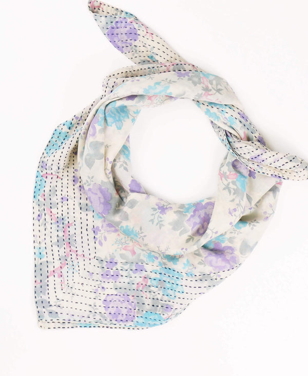 Handmade Vintage Cotton Square Scarf | Anchal Project