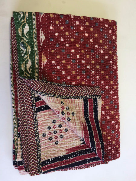Anchal Kantha Throw