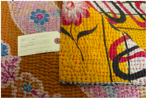 Anchal Small Kantha Throw Quilt