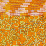 Kantha Infinity Scarf - Orange Abstract | Anchal Project
