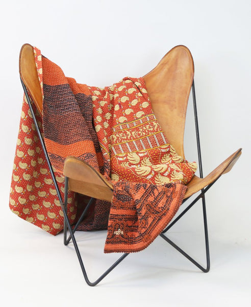 Kantha Throw Quilt | Anchal Project